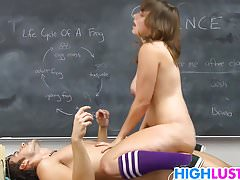 Chrissy Nova Fucks With The New Student
