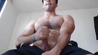 Latino Body Builder