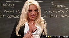 Brazzers - Big Tits at School - No Cock Left Behind scene st