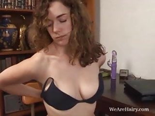 Screaming Sammy Gushes Hairy Pussy Juice