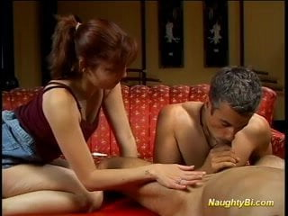 Bisexual fellow gets ejaculation
