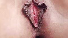 Close up labia