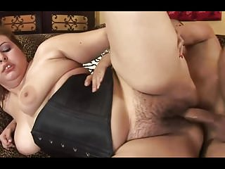 Hot BBW has her hairy pussy drilled