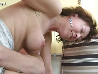 Amateur housewife gets fucked hard by her toyboy