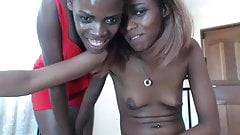 African webcam teen's Thumb