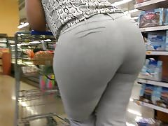 Busted! Posing Phat Booty VPL Part 2