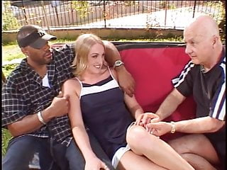 Horny old due gets lucky with a hottie
