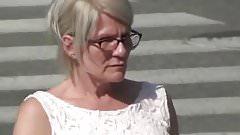 Finnish mature woman flash