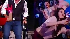 A Fan Bitch Twerk in live on Shane McMahon (WWE)