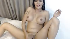 sexy shemale solo big cum