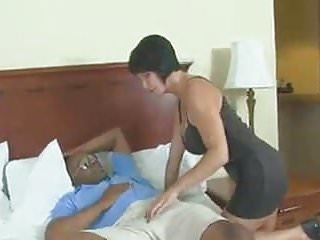 Sexy white milf destroyed by black daddy
