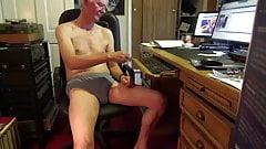 Another webcam wank