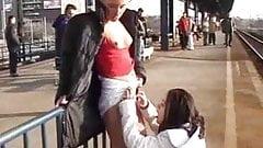 lezbiyanki in Peron