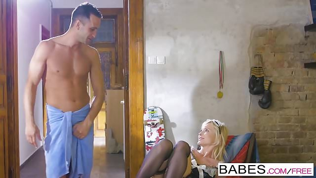 Preview 1 of Babes - Step Mom Lessons - Fair Maiden  starring  Kai Taylor