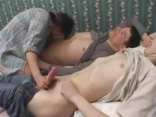 Big tits russian mom fucked by young stud