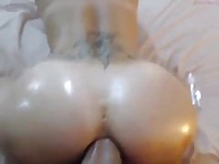 Blond anal's Thumb