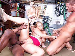 Private.com Curvy Busty Babes Let Loose In the Workshop