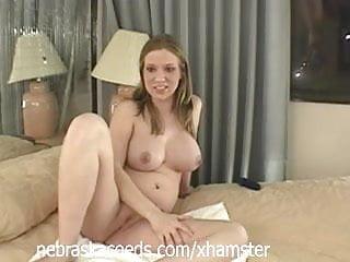Naked Pregnant Girl in Hotel Room