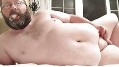 Cigar smoking and jerking off in bed Bicigarguy