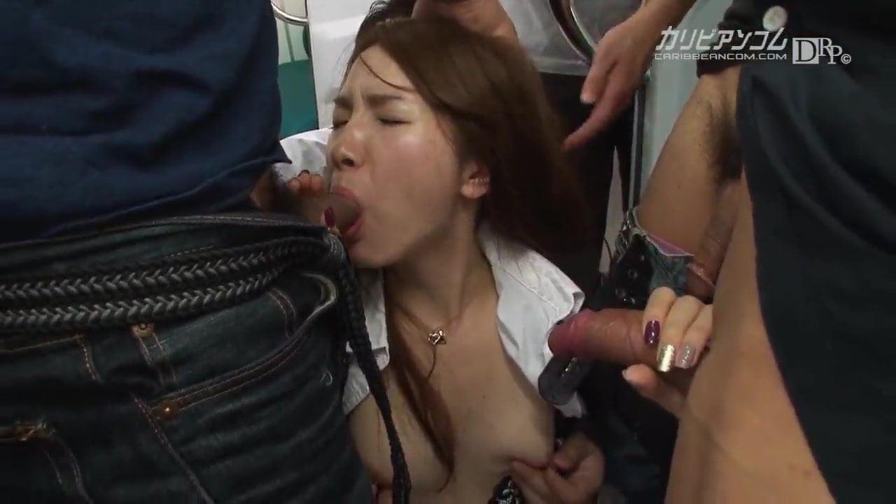Hitomi Hayama :: Beautiful OL In The Chikan Train 2 – CARIB
