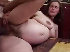 Hairy Preggo needs a Big Black Cock