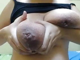 Huge Milking Juggs Inverted Nipples And Pussy Toy Play