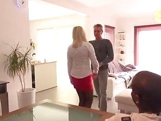 Preview 2 of Emmanuelle 47 years old takes huge black cock