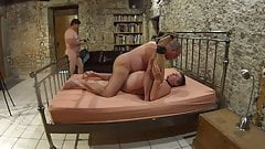 Old Slut used by two men.