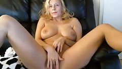 Super hot milf masturbating on webcam