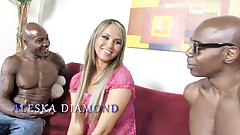Best Present For Aleska Diamond: Double Penetration