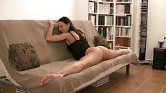 German Gymnastin spanking ass