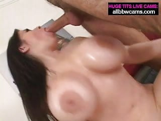 Big Boobs Brunette gets it hard pt 1