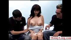 Donny Long gives first big cock to cheating wife milf fake t
