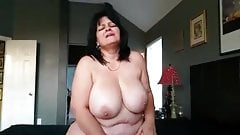 Chubby milfs quick standing orgasm