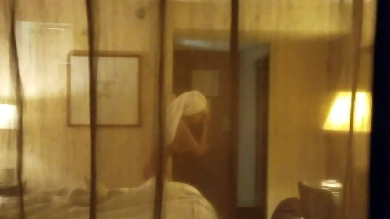 Bbw nude neighbor window peep after shower