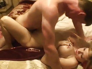 Amateur Homemade Pierced Big Boob Dp Mmf Threesome