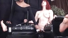 Tickle torture and orgasm denial