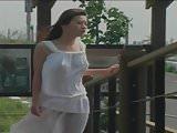 Qian - pretty Taiwanese in white dress