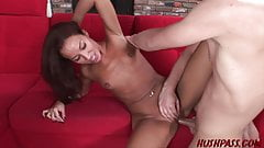Cock Starved MILF Adriana Gets What She Needs