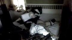 Hidden Masturbation in Bedroom