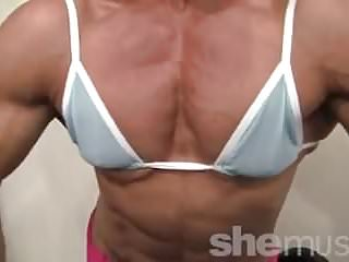 Sexy Female Bodybuilder Her Muscles Are Just Hot