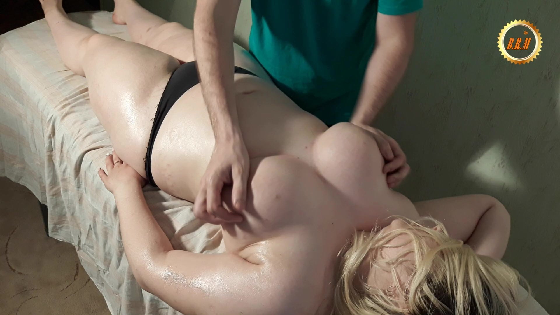 Best Russian Massage.Erotic massage with voluptuous girl. 2