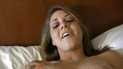 Filming My Tattooed Teen Roommate While Maturbating Pussy