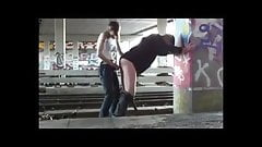 Girlfriend Strapon In Public-sweetchee