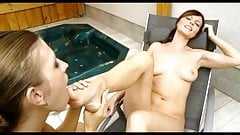 hot lesbian toe sucking foot worship
