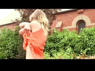 Milf flashing outdoor bvr