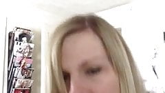 fucking a hot blonde milf