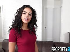 PropertySex - Surprising fiancee with new home thank you sex