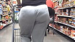 VPL Phat Ass in Loose Grey Pants