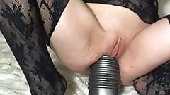 monster dildo in her ass